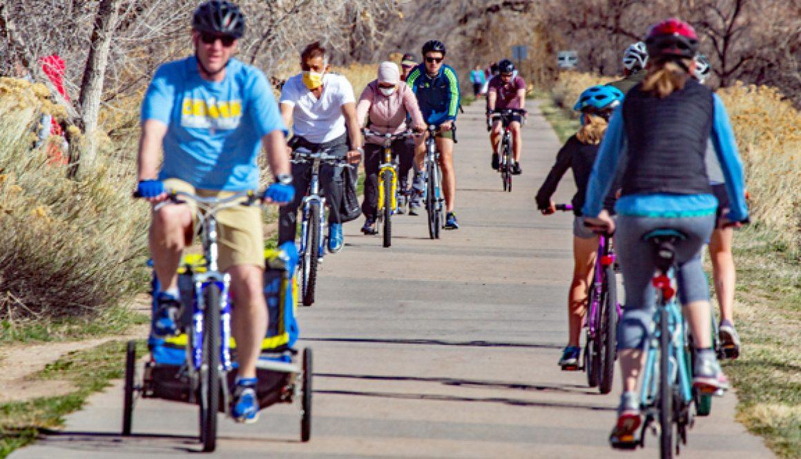 5.20.Bicycle Pic.Cherry Creek Bike trail