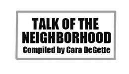 Talk of the neighborhood